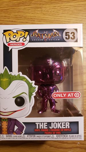 Funko Pop The Joker Purple Chrome Exclusive for Sale in Dundee, OR