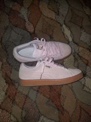 Womens Pink puma suede sz7 for Sale in Salt Lake City, UT