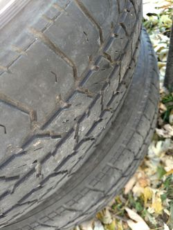 205/65)R 15 tires for Sale in Canton,  IL