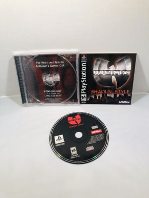 Wu tang shaolin style PlayStation 1 ps1 for Sale in Long Beach, CA