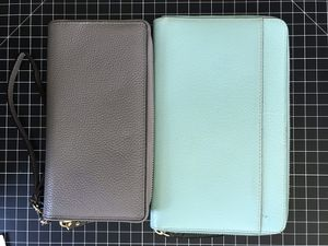 Kate Spade Blue Travel Wallet only for Sale in Ceres, CA