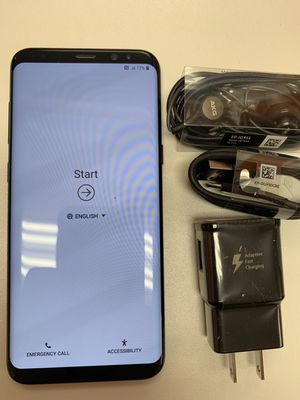 Samsung Galaxy s8 plus unlocked 64 gb, Sold with warranty for Sale in Boston, MA