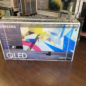 75 INCH SAMSUNG QLED Q80T Q80 FILL ARRAY SMART 4K TV HUGE SALE TVS GAMING TV SALE for Sale in Burbank, CA