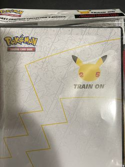 Pokémon 25th Anniversary Binder Picachu Card for Sale in Concord,  CA