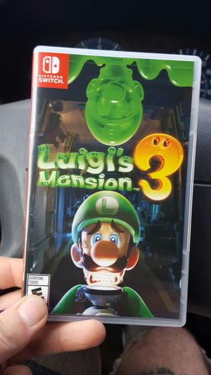Luigi's Mansion 3 Nintendo switch brand new never used for Sale in Sacramento, CA