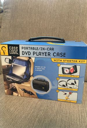 BRAND NEW Case Logic in-car dvd player case complete set for Sale in Lacey, WA