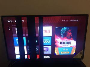 """TCL roku 40"""" LEDSMART TV 40FS3750 for Sale in Alpharetta, GA"""
