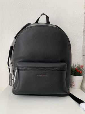 Michael Kors Men Pebbled Leather Backpack for Sale in Arlington, TX