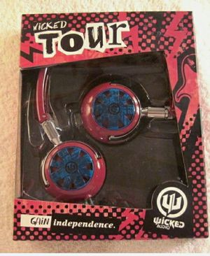 Wicked Audio,Wicked Tour Headphones WI-8102 for Sale in Palatine, IL