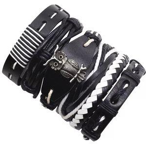 UNISEX- 6 Layer Leather Bracelet- Owl 🦉 for Sale in Houston, TX
