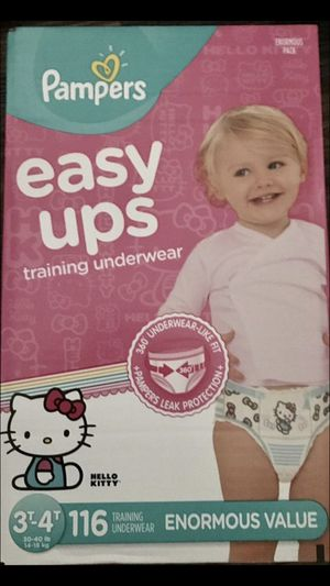 Hello Kitty Pampers Easy Ups Enormous Box for Sale in Cleveland, OH