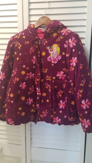 Rapunzel jacket for girls for Sale in Miami, FL