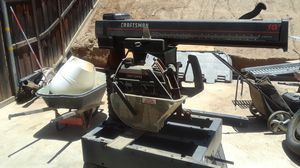 Craftsman 10-inch radial arm saw for Sale in Moreno Valley, CA