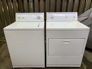 Kenmore Brand Washer and Dryer They are in good condition, they work 100%. Very strong and good model. for Sale in Gaithersburg, MD