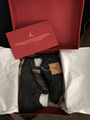 Jordan 4 Levi's size 10 for Sale in Chicago, IL