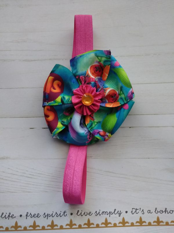 Trolls infant headband