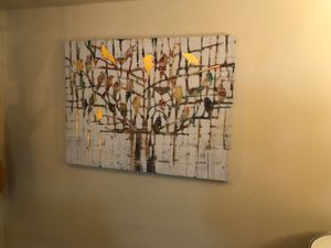 Large World Market canvas painting for Sale in Denver, CO