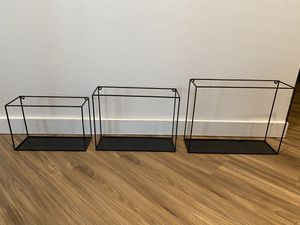 Modern Minimalist Shelving (If Posted, Still Available) for Sale in Orlando, FL