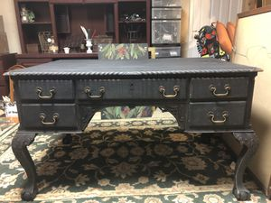 Antique double sided desk for Sale in Leesburg, VA