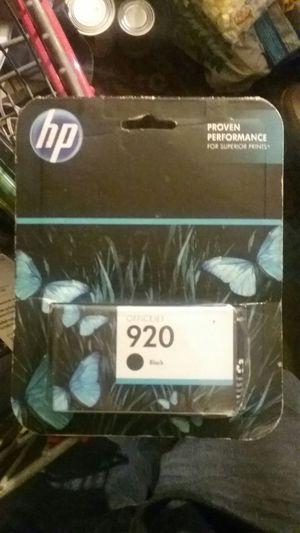 HP OfficeJet printer cartridge 920 black for Sale in Bakersfield, CA