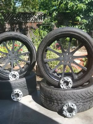 "24"" Tires and Rims For Sale for Sale in Sacramento, CA"