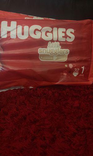 Huggies little snugglers for Sale in Arlington, TX