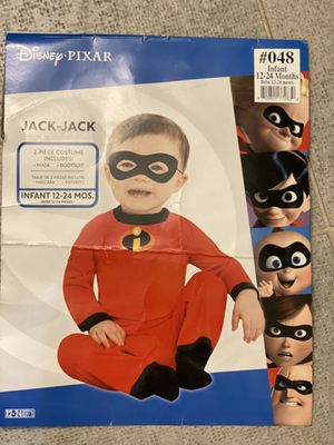 The Incredibles Baby Jack-Jack Halloween Costume for Infants, Disney, 12-24 Months, Includes Mask for Sale in Brookhaven, GA