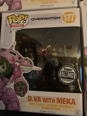 6inch Funko pops Overwatch dragon ball z game of thrones for Sale in Leander, TX