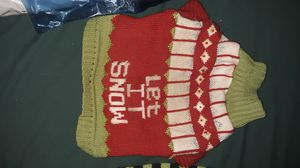 1 - Small Dog Christmas Sweater for Sale in Cadott, WI