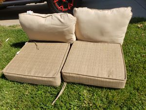 Patio cushions. Set of 2. for Sale in Denver, CO