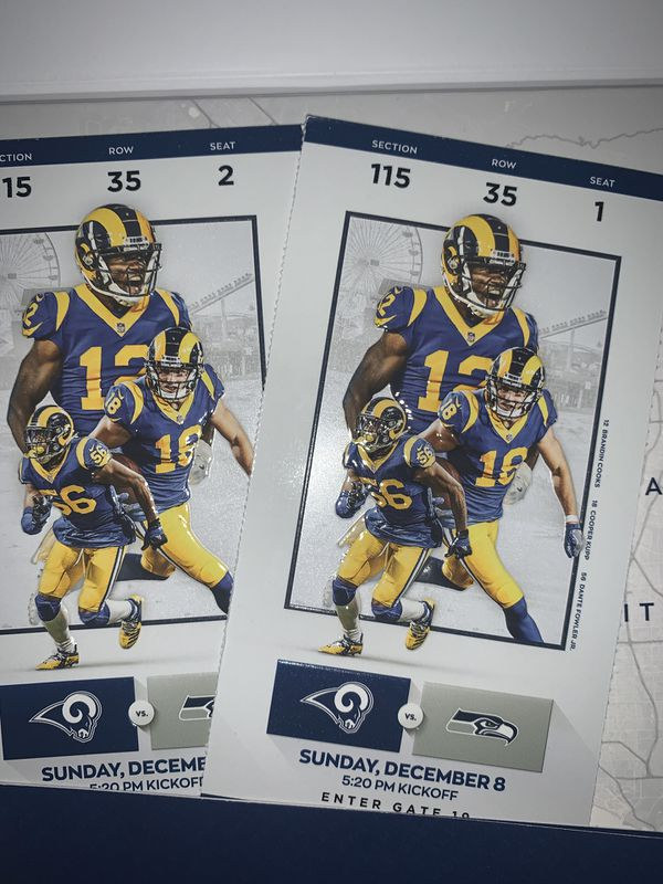 Los Angeles Rams vs Seattle Seahawks SNF