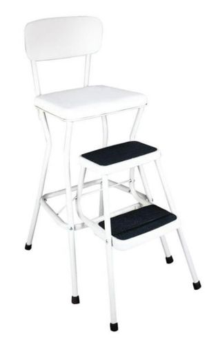 New in box Cosco 24 in. White Cushioned Bar Stool for Sale in Grand Prairie, TX