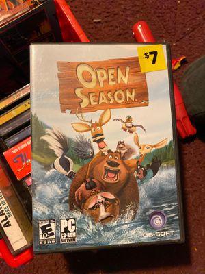 Open season PC CD-ROM for Sale in Portland, MI