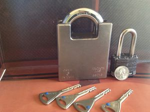 Anchor Las 590-6 Grade 6 Padlock for Sale in Glendale Heights, IL