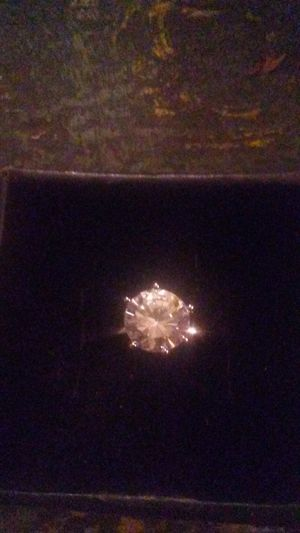 925 cz ring size 8 1/2 for Sale in Dennison, IL