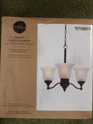 Project Source 3 light Chandelier for Sale in Oxford, AL