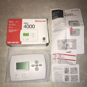 Honeywell PRO 4000 5-2 Programmable Thermostat TH4110D1007 New in Box for Sale in Knoxville, TN