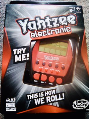 Yahtzee Electronic for Sale in Raleigh, NC