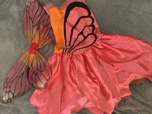 Barbie Mariposa dress costume 7/8 years for Sale in Las Vegas, NV