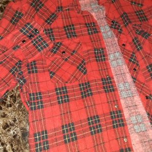 Mens Red Flannel for Sale in Bloomington, IL