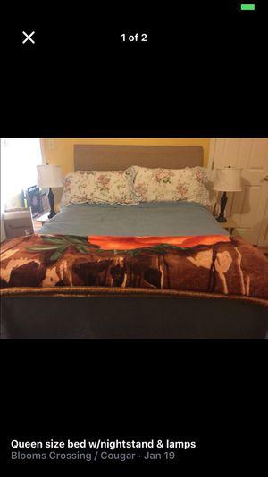 Queen size bedroom set for Sale in Manassas, VA