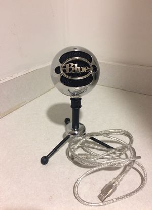 Blue Snowball Microphone for Sale in West Hartford, CT