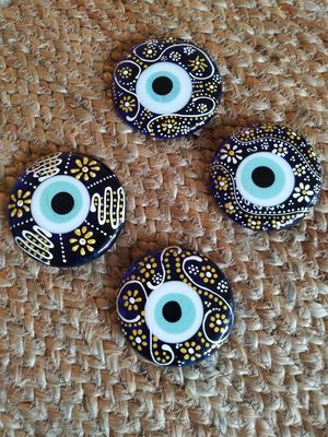 GLASS EVIL EYE FOR PROTECTION HOME DECOR. ( $10 EACH!! ) for Sale in Bothell, WA