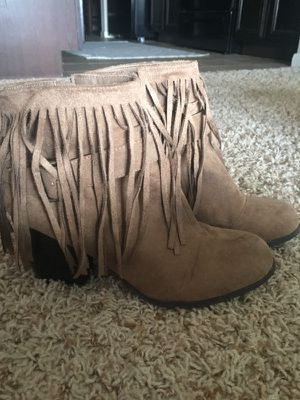 Fringe Booties for Sale in Tulsa, OK