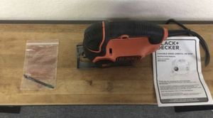 Black+Decker 5 Amp Jigsaw with Curve control for Sale in Huntington Beach, CA