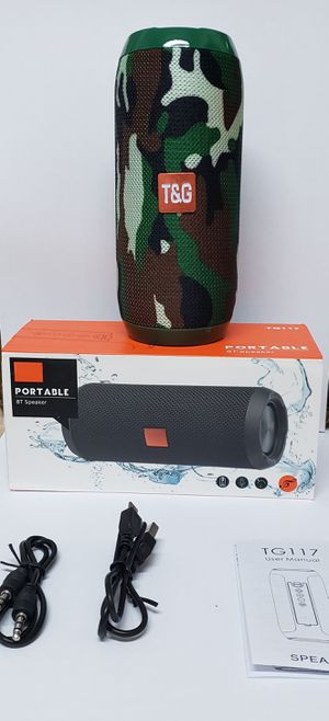 Camouflage Bluetooth Speaker Wireless for Sale in Los Angeles, CA