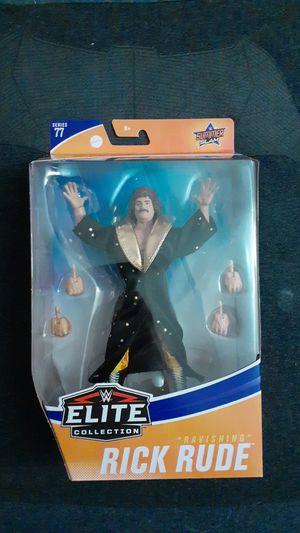 WWE Elite Collection Ravishing Rick Rude Action Figure Series 77 Summer Slam New for Sale in Pomona, CA