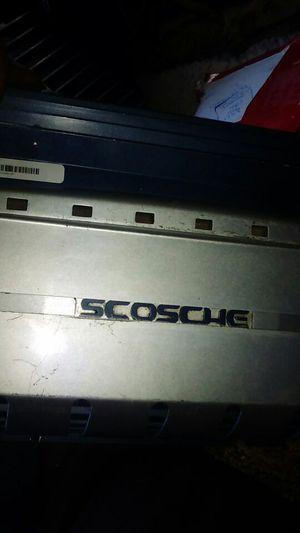 Scosche car amplifier 500 watts for Sale in Phoenix, AZ
