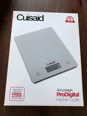 NEW Cuisaid kitchen scale for Sale in San Jose, CA