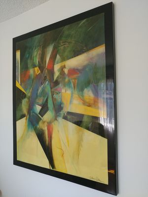Beautiful Large Anthony Pettera Acrylic Painting for Sale in Lemon Grove, CA